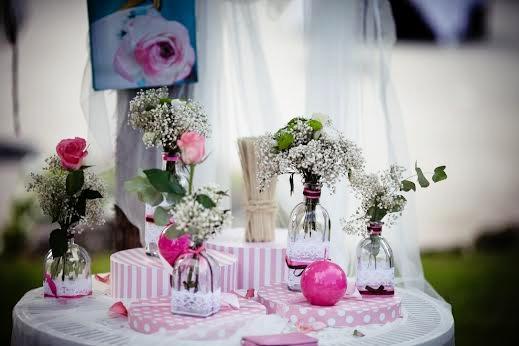 Decoraciones florales. Entreflores. La casona de las fraguas