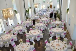 banquete de bodas personalizado