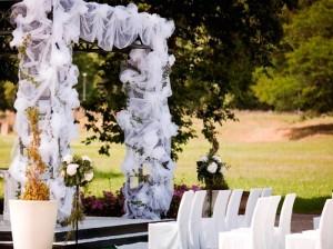 jardín para ceremonias de boda