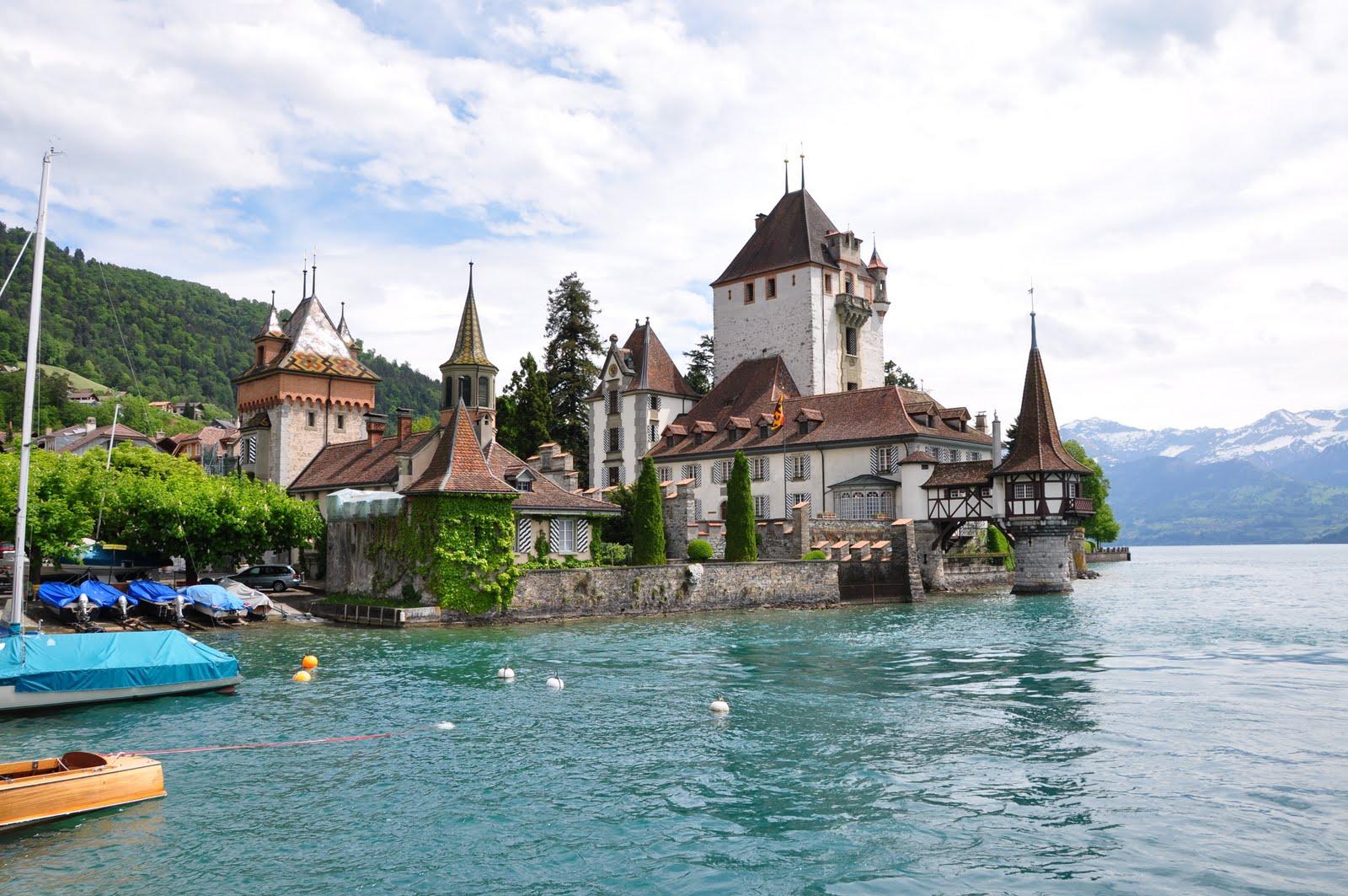 castillo para bodas. Castillo de oberhofen en suiza
