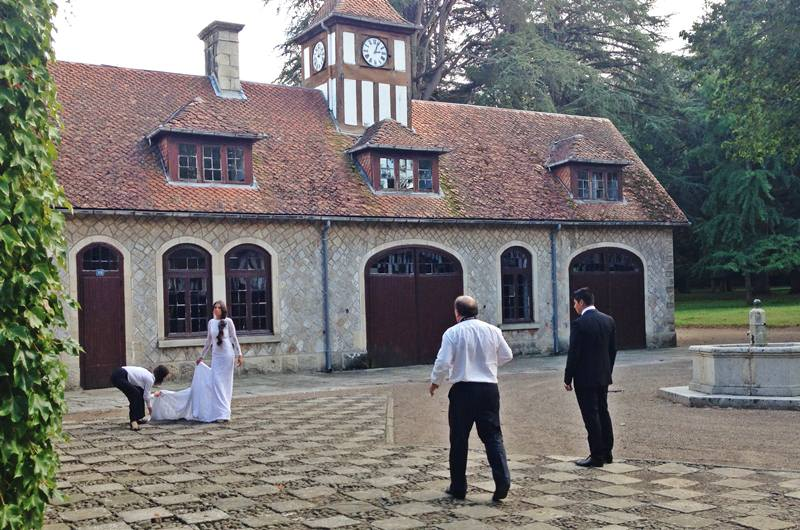 reportaje para bodas en cantabria, casona de las fraguas