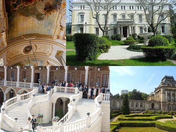 mejores palacios para bodas, celebraciones de boda en palacios