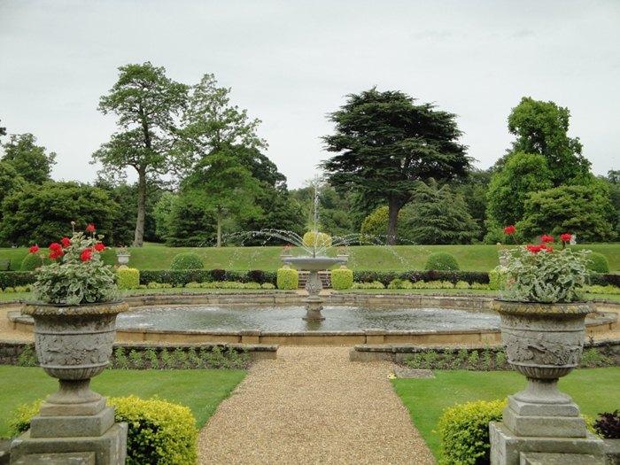 Jardines romanticos ingleses. Belton House