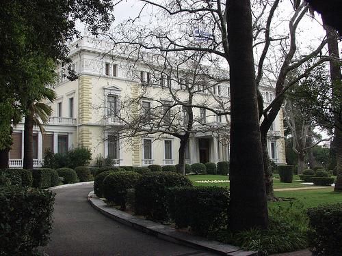 Palacios para bodas. Palacio de Atenas