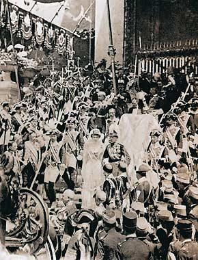 boda de Alfonso XIII