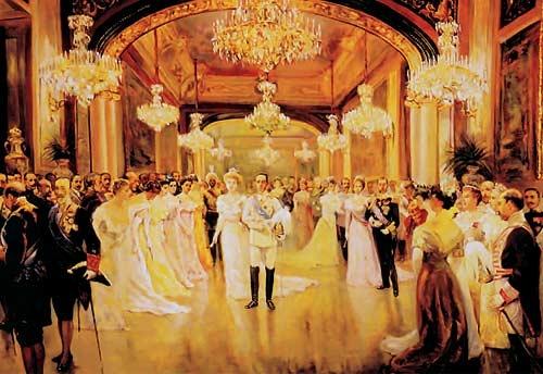 banquetes de bodas reales. boda de alfonso XIII