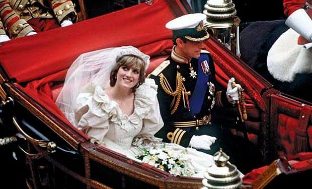 boda reales en palacios. boda de carlos y diana