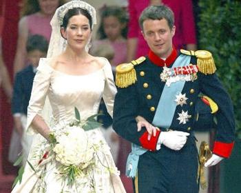 bodas en palacios reales. bodas reales. federico y mary