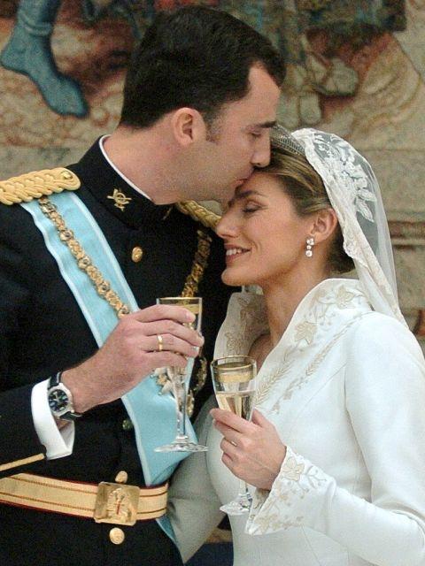 bodas reales. la boda de felipe y leticia