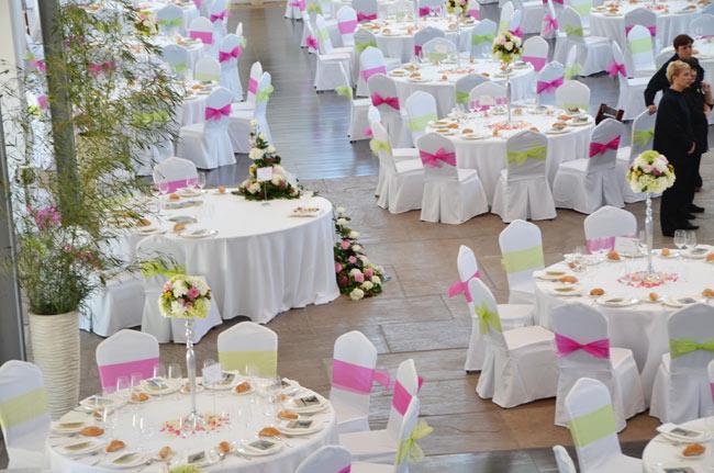 Celebración de banquetes totalmente personalizados