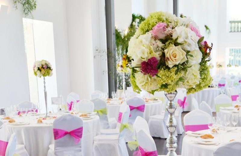 decorar con flores las bodas de La casona de las fraguas