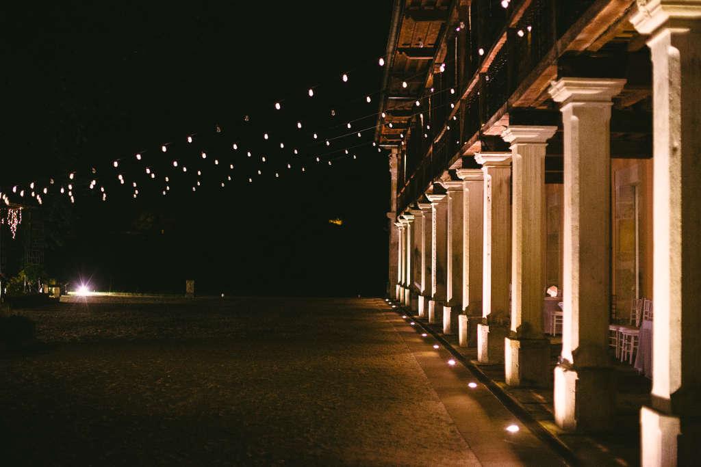 Boda de noche. La Casona de Las Fraguas