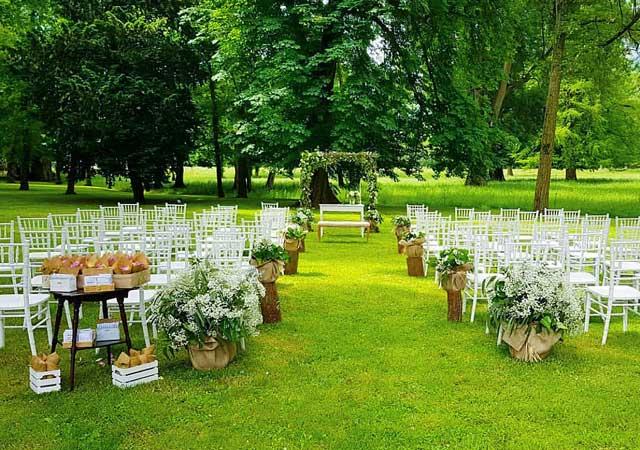 Detalles para preparar una boda en La Casona